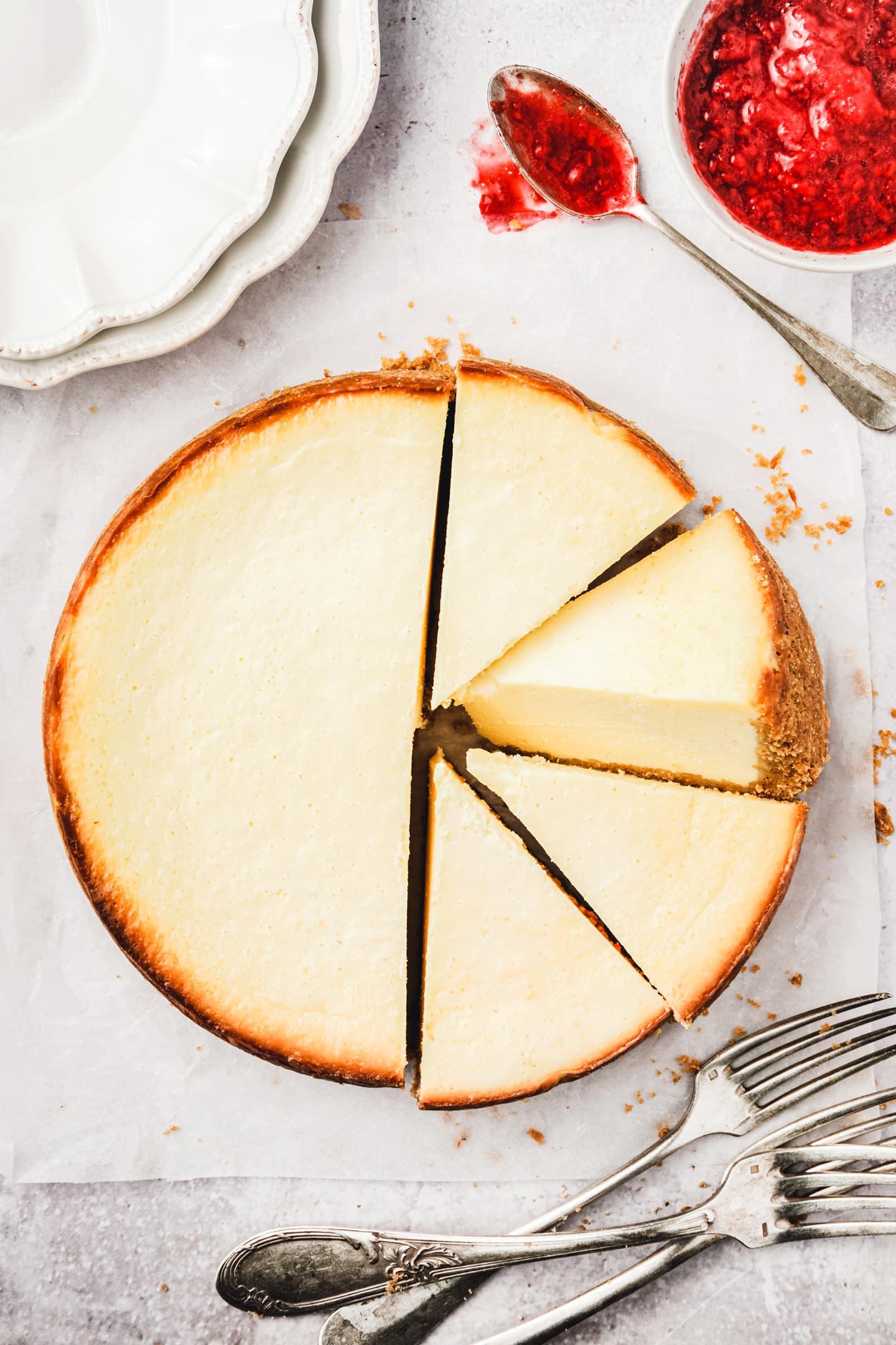 Recette du New york cheesecake