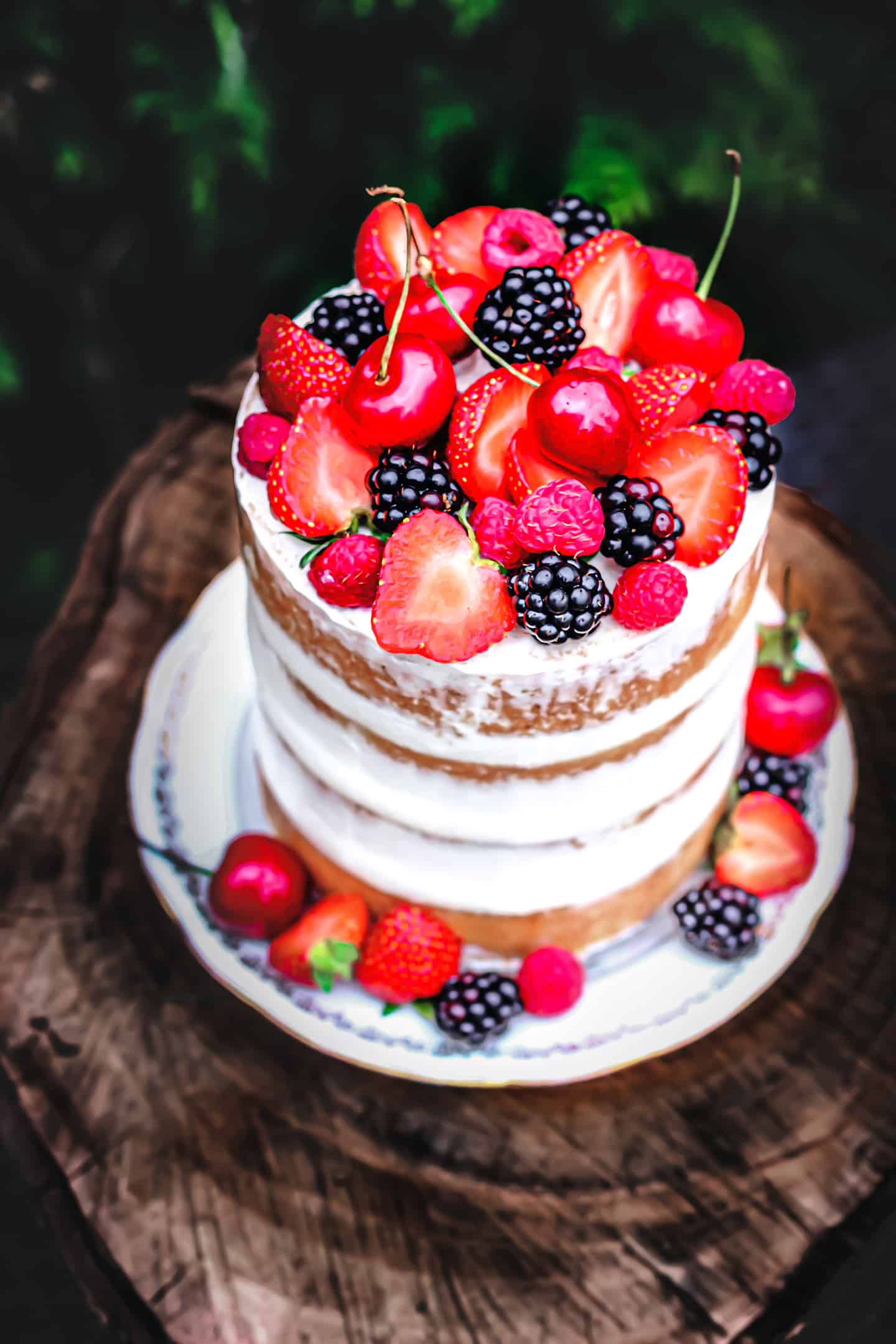 How to make a perfect naked cake recipe