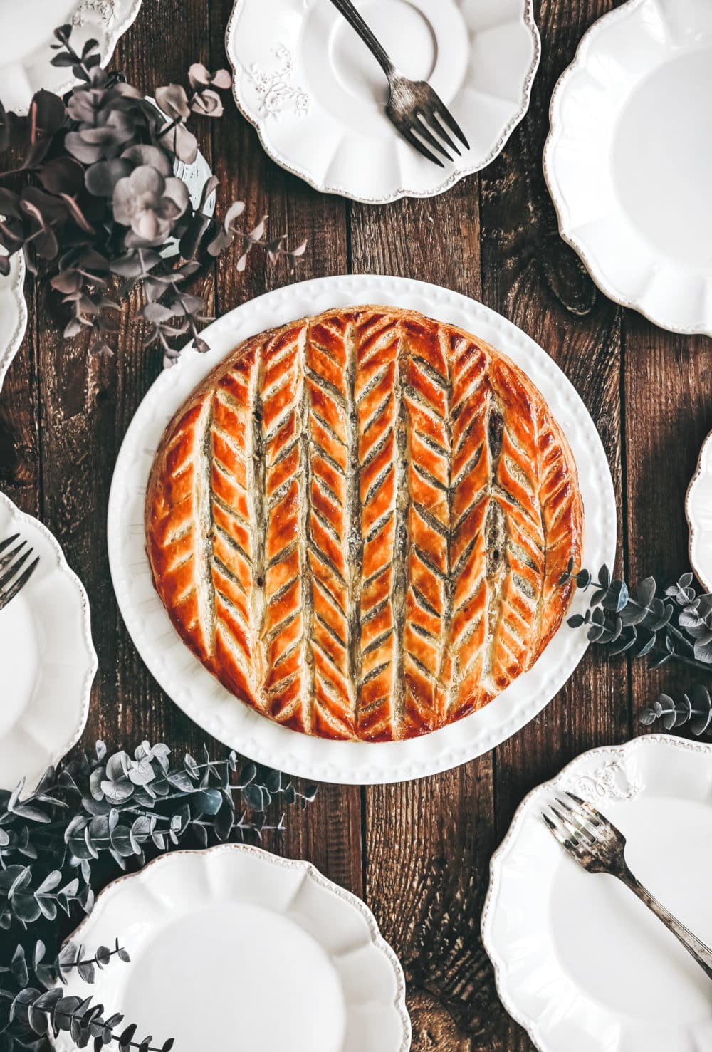 Chocolate french galette des rois
