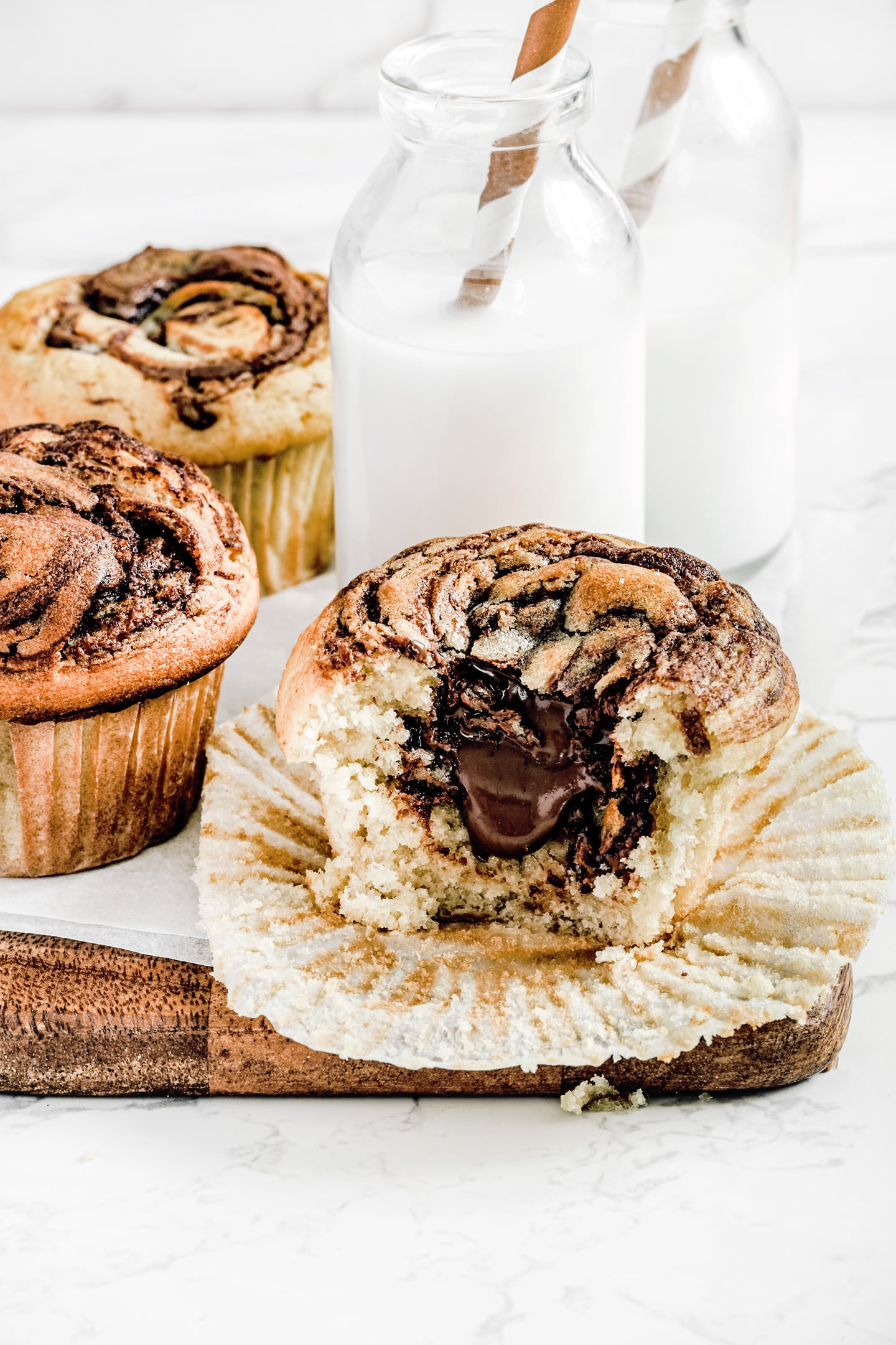 How to make nutella muffins recipe