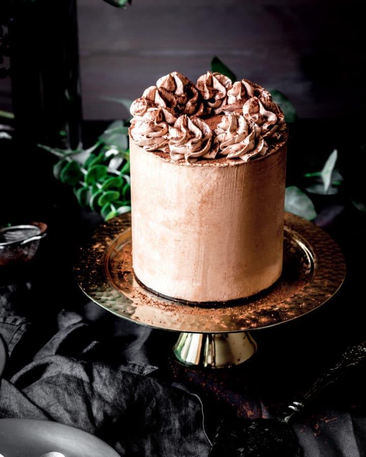 Layer cake au chocolat