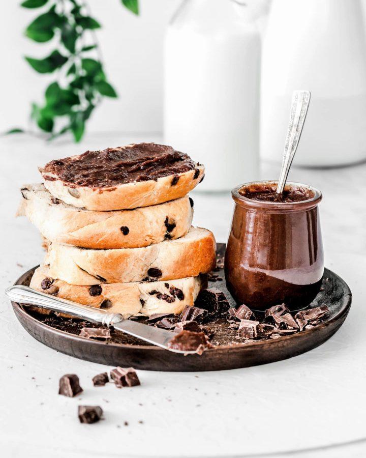 Pâte healthy au chocolat noisettes