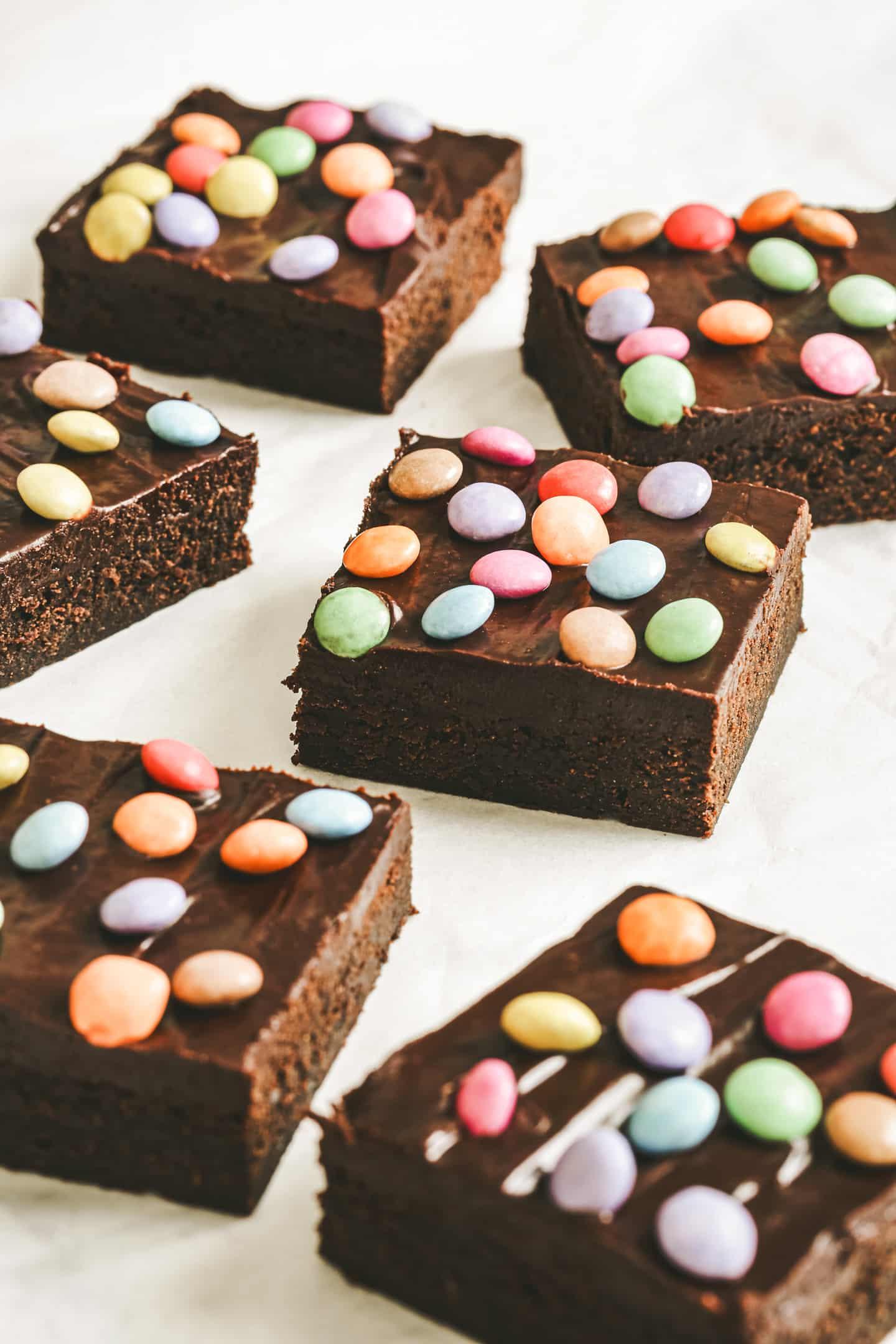 Fudgy cosmic brownies